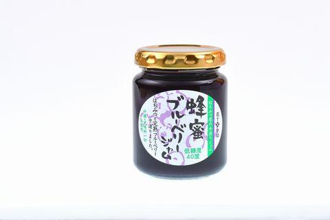 花十字印 蜂蜜ブルーベリージャム